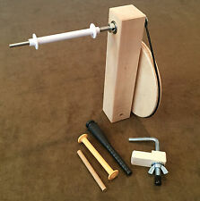 Maple Weavers' Shuttle Bobbin Winder for Weaving Loom, Bobbins, & Boat Shuttle