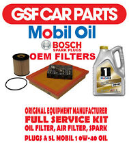 Service Kit Oil Air & Fuel Filters Spark Plugs & 5L Oil Mini One Cooper