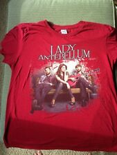 Lady Antebellum Own the Night tour t shirt Large