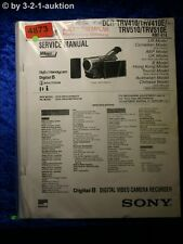 Sony Service Manual DCR TRV410 TRV410E TRV510 TRV510E Digital Video (#4873)
