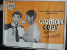 Cinema Poster: CARBON COPY 1981 (Quad) Denzel Washington George Segal