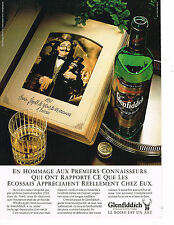 PUBLICITE ADVERTISING 034   1986   GLENFIDDICH     scotch whisky
