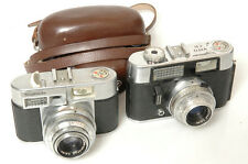 VOIGTLANDER VITO CD & VITOMATIC IIA W/ CASE. FOR PARTS OR REPAIR