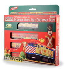 Kato N Operation North Pole Christmas Train Set (2015) Model: 106-2015