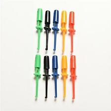 Fine Multi-color 10 Pcs Mini Test Hook Clip Test Probe Testing SMD Grabber SW