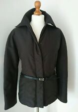 MAX MARA Brown Belted Jacket Size UK 10