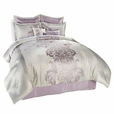 HIGHGATE MANOR SYCAMORE 8-PIECE COMFORTER BEDDING SET WITH SHAMS & PILLOWS FULL