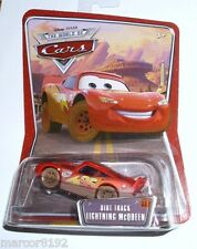 Disney Pixar Cars Die-Cast Dirt Track  Lightning McQueen New