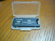 SanDisk M2 to MEMORY STICK PRO adapter M2 Pro Adapter