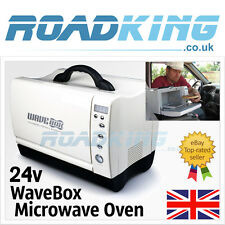 24v Wavebox Microwave | 24 Volt 660 Watts 7 Litre Micro Wave for Trucks & Boats