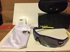 NEW Oakley - RADAR EDGE - Royalty Purple / Black Iridium, OO9184-14