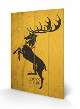 Game of Thrones Holzdruck Baratheon 40 x 60 cm NEU & OVP