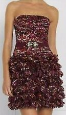 BCBG Max Azria NWT Organza Azalia Party Dress New 2 $898 IBC6H208
