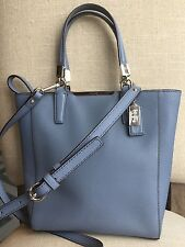Coach 29001 Madison Saffiano Leather Mini Tote Cross-body Shoulder Purse Bag