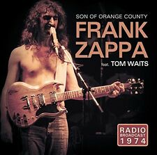 FRANK ZAPPA FEAT. TOM WAITS - SON OF ORANGE COUNTRY/RADIO BROADCAST 1974 CD NEU
