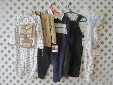 Baby Boy Clothes 9-12 Months LOT Of 6 CARTERS OSH KOSH LITTLE ME NEW