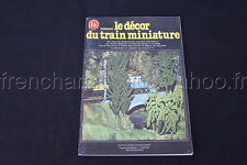 C888 Train Ho FR 1978 le Décor du train miniature Colomb maquette decoration