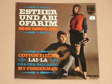"""ESTHER UND ABI OFARIM -Ihre schönsten Songs- 7"""" EP 45"""