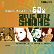 AUSTRALIAN POP OF THE 60s VOLUME 4 SHAKE BABY SHAKE VARIOUS ARTISTS 2 CD NEW