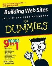 Building Web Sites All-in-One Desk Reference For Dummies (9 Books in 1) C. Snell