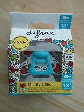 Difrax Natural Dummy Dummies Pacifier Soother for 12 Months+  Hearts Limited