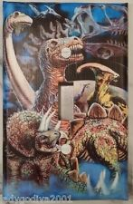 'New!' LARGER SIZE! Dinosaur World - Light Switch Cover-FREE Shipping
