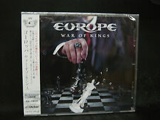 EUROPE War Of Kings + 1 Japan CD Treat Thin Lizzy Gary Moore MSG John Norum