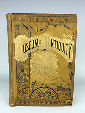 OLD ANTIQUITY BOOK 1883 ANCIENT ROMAN EGYPTIAN TOMB RUINS MYTHOLOGY ARCHAEOLOGY