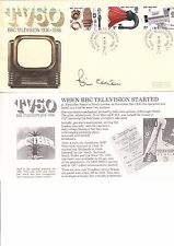BILL COTTON SON OF THE BOSS OF THE BBC.HAND SIGNED AUTOGRAPHED FIRST DAY COVER