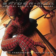 Spider-Man [Original Motion Picture Score] by Danny Elfman (CD, Jun-2002, Sony M