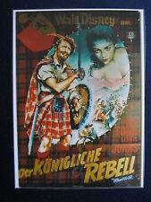 laminiertes Filmplakatmotiv als DVD-Cover :  Der Königliche Rebell