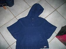 pull forme poncho creeks 14 ans fille