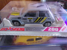 MAJORETTE MADE IN FRANCE SERIE 200 RENAULT SUPER 5 REF 205 RALLY NEUF SS BLISTER