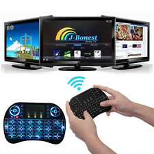 2.4Ghz Mini Wireless Keyboard LED Backlit Touchpad Mouse fr PC Android TV XBOX