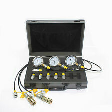 XZTK-60M Caterpillar excavator Hydraulic Pressure Test Kit,test coupling,gauge