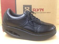 Ryn Casual Woman Dream (Black) Leather Dress Shoe W/Extras US Size 6