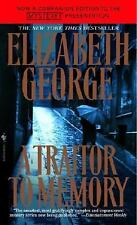 A Traitor to Memory, George, Elizabeth, New Book