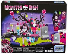 Mega Bloks Monster High Draculaura's Birthday Party Set New
