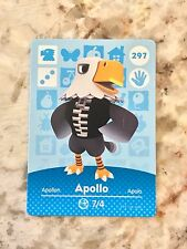 APOLLO 297 Animal Crossing Amiibo Card Mint From Either Series 1, 2, 3, 4, 5.