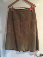 Just Jeans Suede Skirt - Size 12