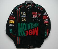 Size XL Dale Earnhardt JR Mountain Dew Cotton Jacket JH Design Free Shipping