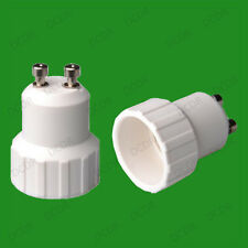 20x GU10 To Small Screw E14 SES Light Bulb Socket Lamp Adaptor Converter Holder