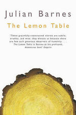 JULIAN BARNES The Lemon Table VGC Short Stories