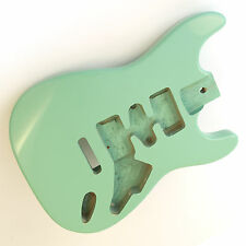 Surf Green alder guitar body for Stratocaster Strat