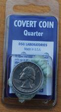 Quarter Spy Coin w Hidden Compartment Authentic Covert Diversion Safe Evasion
