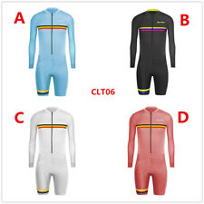 Uglyfrog New Men's Breathable Summer Long Sleeve Cycling Skinsuit CLT06