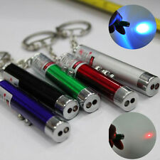 Fashion 2 In1 Red Laser Pointer Pen With White LED Light Childrens Cat Toy