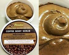 50g Paradise Coffee Body & Face Scrub Skin Reduce Cellulite & Acne No Chemica