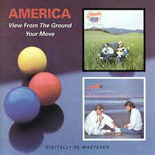 View from the Ground/Your Move by America (CD, Jan-2008, 2 Discs, Beat Goes On)
