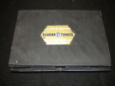 Vintage Scherr-Tumico 01-1173 4 Piece Micrometer Set In Case